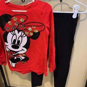 Girls Disney Minnie Mouse Set